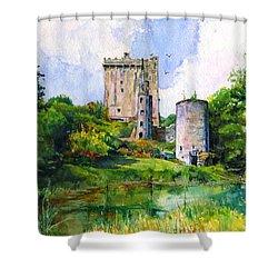 Blarney Castle Landscape Shower Curtain by John D Benson