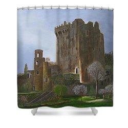 Blarney Castle Shower Curtain by LaVonne Hand