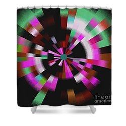 Blast Shower Curtain