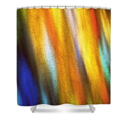 Shower Curtain featuring the photograph Blaze I by Kenneth Campbell
