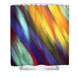 Shower Curtain featuring the photograph Blaze II by Kenneth Campbell