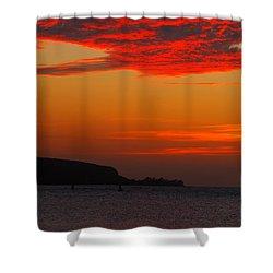Blaze Shower Curtain