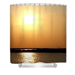 Shower Curtain featuring the photograph Blaze Of Glory by Debra Forand