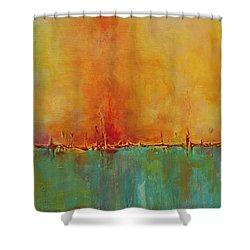 Blazing Shower Curtain