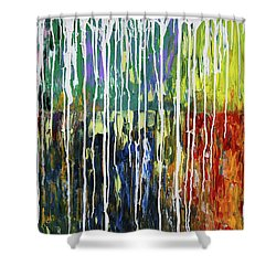 Bleached Shower Curtain