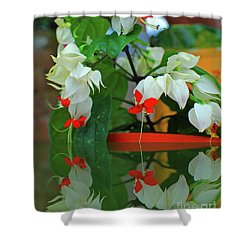 Bleeding Heart I Shower Curtain