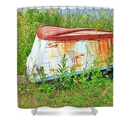 Bleeding Scars Of Age Shower Curtain