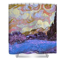 Blend 20 Van Gogh Shower Curtain