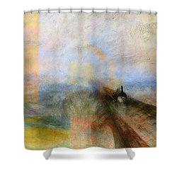 Blend 5 Turner Shower Curtain