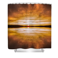 blessed Sight Shower Curtain