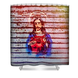 Blessing Shower Curtain