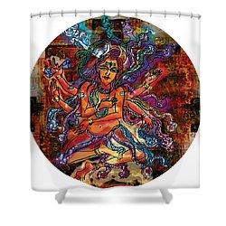 Blessing Shiva Shower Curtain