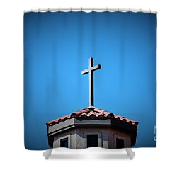 Shower Curtain featuring the photograph Blessings To Everyone Of All Faiths by Ray Shrewsberry