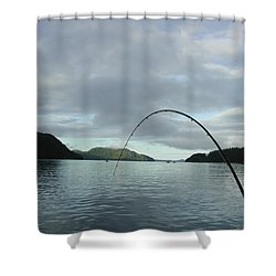 Hisnit Inlet And Sunny Bligh Shower Curtain