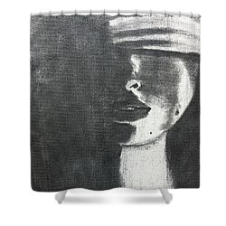 Blind Justice Shower Curtain