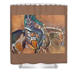 Bling My Ride Shower Curtain by Stephanie Come-Ryker