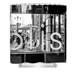 Shower Curtain featuring the photograph Bliss by David Sutton