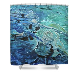 Bliss Shower Curtain by Stuart Engel