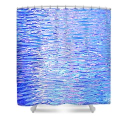 Blissful Blue Ocean Shower Curtain