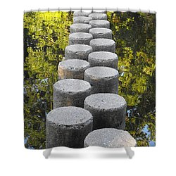 Blissful Path Of Tranquility Shower Curtain