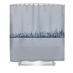 Blizzard 2011 Shower Curtain