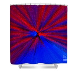 Shower Curtain featuring the photograph Block Zoom by Trena Mara