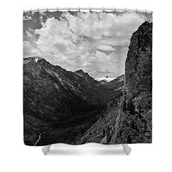 Blodgett Canyon Shower Curtain