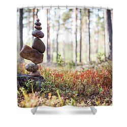 Blomma Shower Curtain