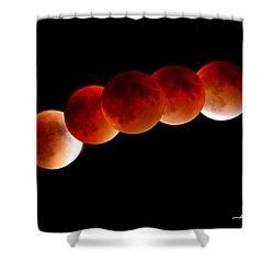 Blood Moon Shower Curtain