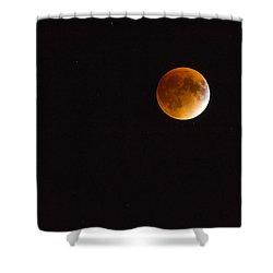 Blood Moon Luna Eclipse Shower Curtain