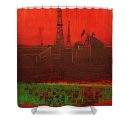 Blood Of Mother Earth Shower Curtain