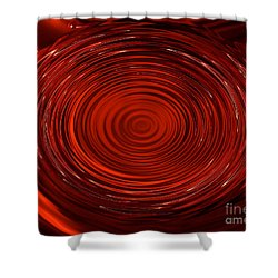 Blood Tears Shower Curtain