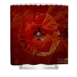 Bloody Mary Shower Curtain by Mona Stut