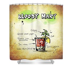 Bloody Mary Shower Curtain by Movie Poster Prints