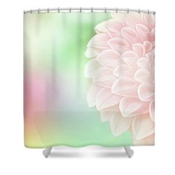 Bloom Shower Curtain by Robin Dickinson