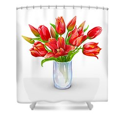 Bloomers Shower Curtain by Now