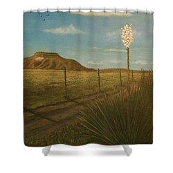 Bloomin' Yucca Shower Curtain