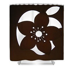 Blooming Apple Mac Shower Curtain by Ausra Huntington nee Paulauskaite