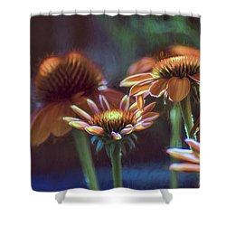 Shower Curtain featuring the photograph Blooming Colors by John Rivera