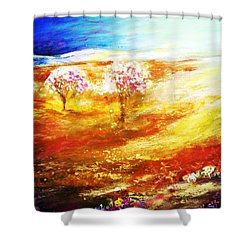Blossom Dawn Shower Curtain