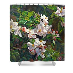 Blossom Of My Heart Shower Curtain