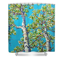 Blossoming Creativitree Shower Curtain