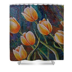 Blowing In The Wind Shower Curtain by Susan DeLain