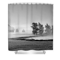 Shower Curtain featuring the photograph Blown Away by Terri Gostola
