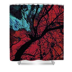 Wings Of Yoga Shower Curtain