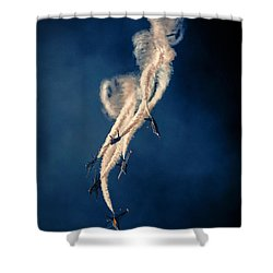 Blue Angels Breakout Shower Curtain