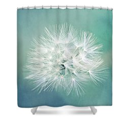 Shower Curtain featuring the photograph Blue Awakening by Trish Mistric