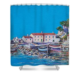 Blue Bay Shower Curtain