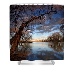 Blue Bayou Shower Curtain