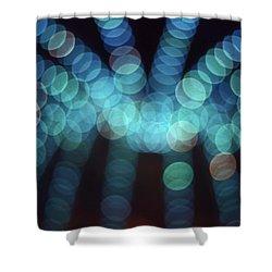 Blue Boogie Shower Curtain